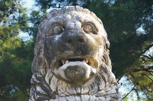 Le lion d'Amphipolis