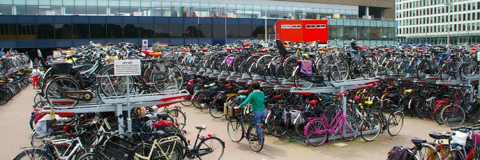 Vélos à La Haye